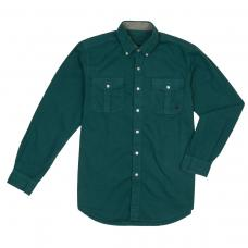 Henning Field Shirt - Forest Green